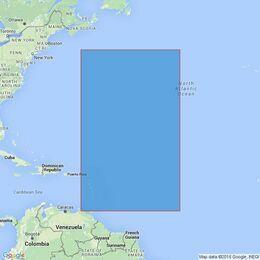 4407 Trinidad to the Mid-Atlantic Ridge Admiralty Chart