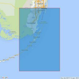 1097 Key Biscayne to Lower Matecumbe Key Admiralty Chart