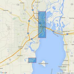 3150 Mobile Bay Admiralty Chart
