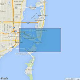 3698 Miami Harbor Admiralty Chart