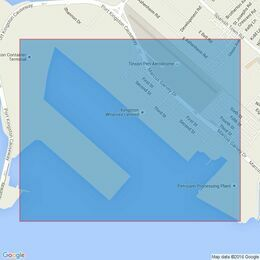 454 Kingston Harbour Admiralty Chart