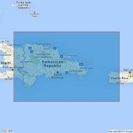 3689 Eastern Part of Haiti to Puerto Rico including Mona Passage Admiralty Chart