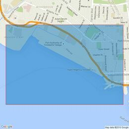 474 Port of Spain and Approaches Admiralty Chart