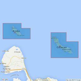 702 Aruba and Curacao Admiralty Chart