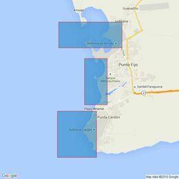 2190 Venezuela, Peninsula de Paraguana, Punta Salinas To Punta Cardon Admiralty Chart