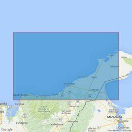 2195 Punta Gallinas to Bahia de Santa Marta Admiralty Chart