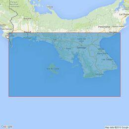 2496 Panama - Pacific Coast, Punta Mala to Punta Burica Admiralty Chart