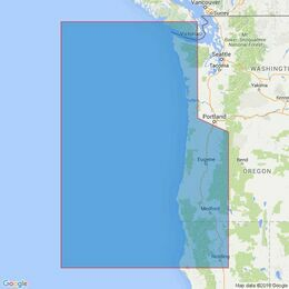 2531 Cape Mendocino to Vancouver Island Admiralty Chart
