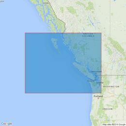 4920 Juan de Fuca Strait to / A Dixon Entrance Admiralty Chart