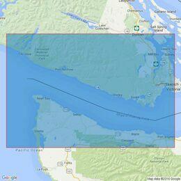 4947 Juan de Fuca Strait Admiralty Chart