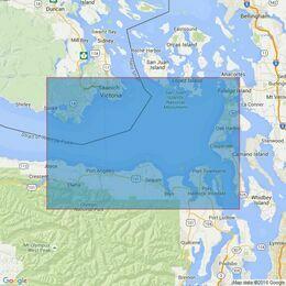 4950 Juan de Fuca Strait, Eastern Portion Admiralty Chart