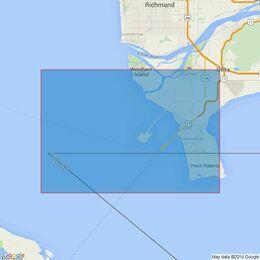 4960 Strait of Georgia, Roberts Bank Admiralty Chart
