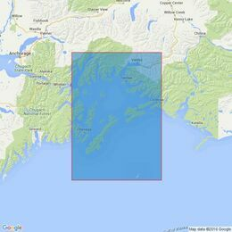 4979 Alaska-South Coast,Prince William Sound & Approaches Admiralty Chart