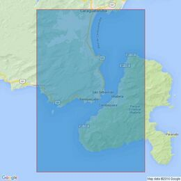 436 Canal de Sao Sebastiao Admiralty Chart