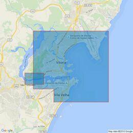 521 Porto de Vitoria and  Porto do Tubarao Admiralty Chart