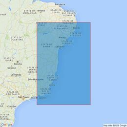 529 Recife to Cabo de Sao Tome Admiralty Chart
