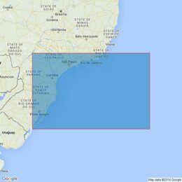 530 Cabo de Sao Tome to Rio Grande Admiralty Chart