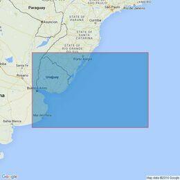 556 Tramandai to Mar del Plata Admiralty Chart