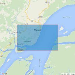 2189 Rio Amazonas - Canal Do Norte Admiralty Chart