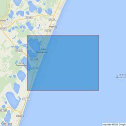 3969 Ilha do Arvoredo to Mostardas Admiralty Chart