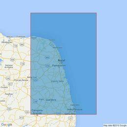 3979 Ponta dos Tres Irmaos to Cabedelo Admiralty Chart