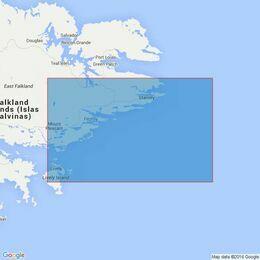 2536 Port William to Choiseul Sound Admiralty Chart