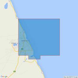 3106 Isla Leones to Pto San Julian Admiralty Chart