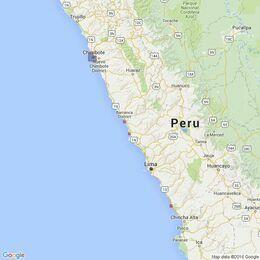 3083 Ports on the Coast of Peru Admiralty Chart