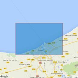 1355 Dieppe Admiralty Chart