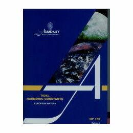 Admiralty NP 160 Tidal Harmonic Constants Europe