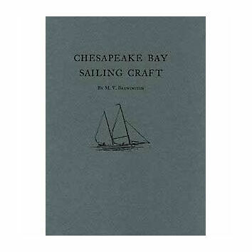 Chesapeake Bay Sailing Craft (faded cover)