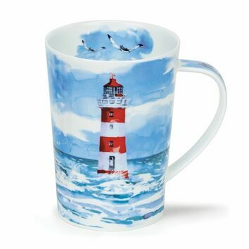 Argyll Solitude Red Lighthouse Mug