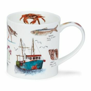 Orkney Seaside Fishing Mug