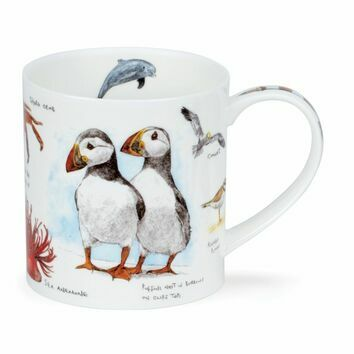 Orkney Seaside Puffin Mug