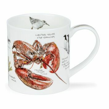 Orkney Seaside Lobster Mug