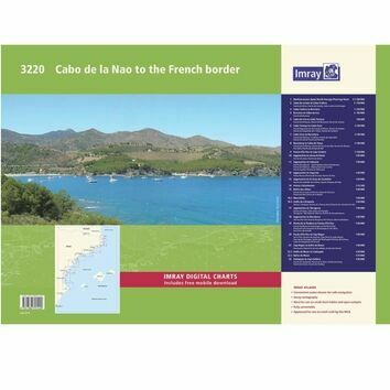 Imray 3220 Cabo de la Nao to the French Border Chart Atlas