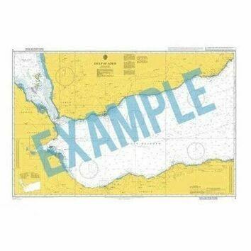 3293 Nigeria, Bonny River Port Harcourt Admiralty Chart