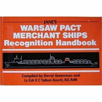 Warsaw Pact Merchant Ships Recognition Handbook (faded binder)