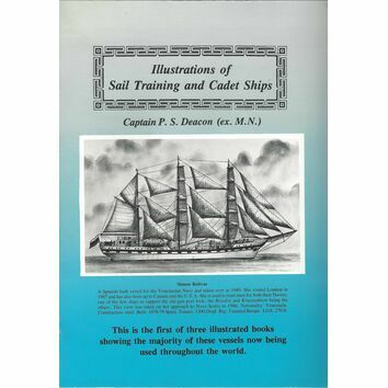 Illustrations of Sail Training and Cadet Ships (faded cover)