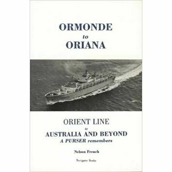Ormonde to Oriana (Slight damage to cover)