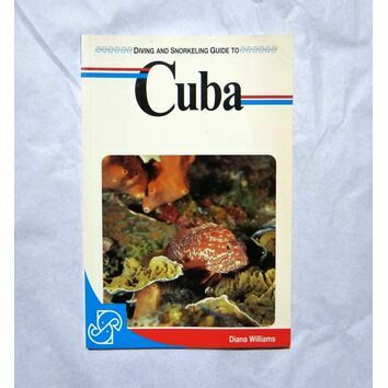 Diving and Snorkeling guide to Cuba (slightly faded binder)
