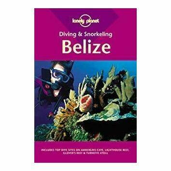 Lonely Planet Diving & Snorkeling Belize (slightly faded binder)