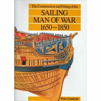 Sailing Man of War 1650 - 1850 (faded sleeve)