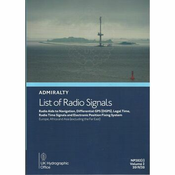 NP282(1) Admiralty List of Radio Signals Vol 2 Europe, Africa and Asia