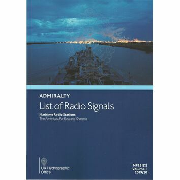 Admiralty NP281(2) List of Radio Signals 2019/20