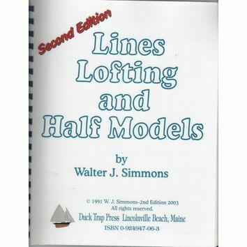 Lines Lofting and Half Models second edition