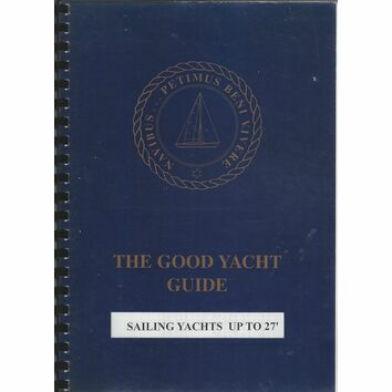 The Good Yacht Guide - Sailing Yachts up to 27' (marks on cover)