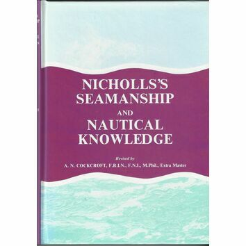 Nicholls\'s Seamanship and Nautical Knowledge (fading to cover)