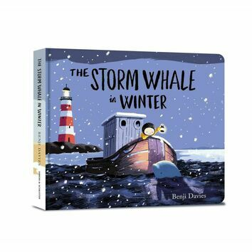 The Storm Whale in Winter (Board Book)