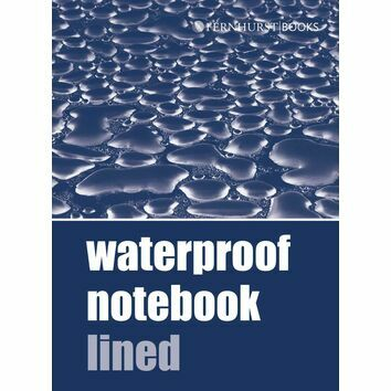 Waterproof Notebook Lined